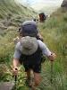 Climbing Bannerman Pass
