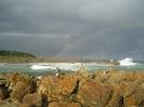 Club Photo Competition 2011 :: Fishermen and rainbow on Wild coast hike_1