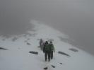 descending Mount Kenya