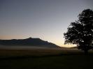 Dawn at Wintershoek Hut