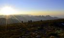 Cleft Peak Sunset